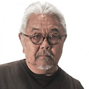 Head shot of Roger Shimomura