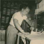 Tung Pok Chin ironing clothing