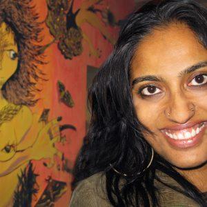 Headshot of Chitra Ganesh