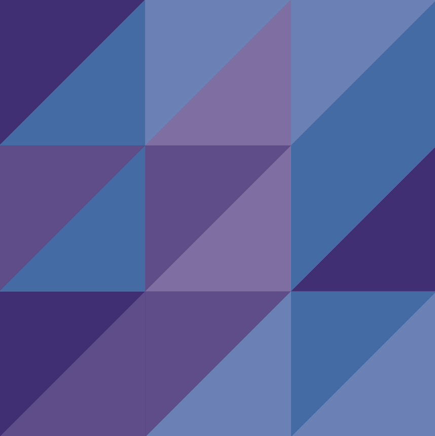 Graphic of the ADVA Logo. Purple and blue triangles in a geometric arrangement.