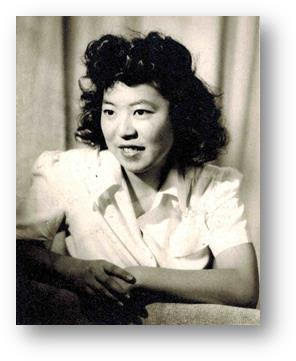 "Portrait of young Takako ""Taxie"" Wada"